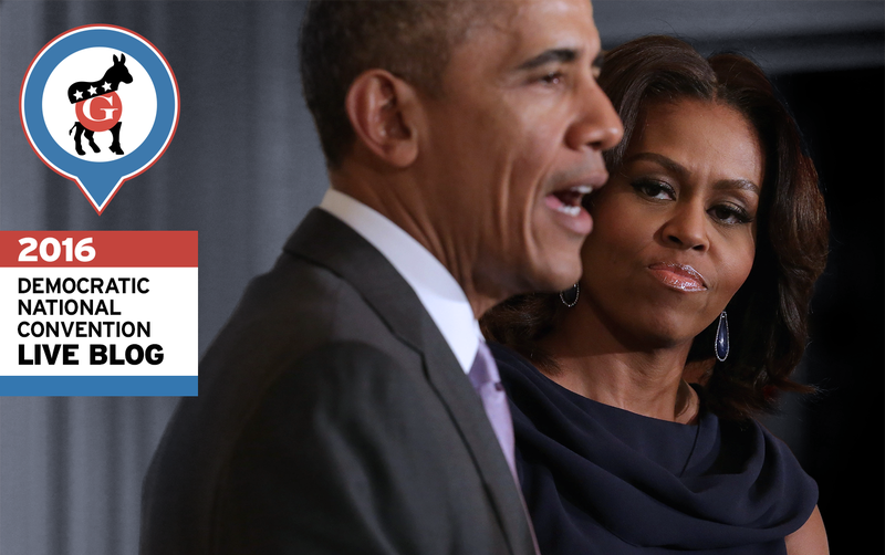 Liveblogging Obama's Attempt To Give A Better Speech Than His Wife