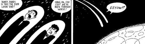 Martin & Lewis Impersonators Slaughter Alien Hordes in New Comic Book