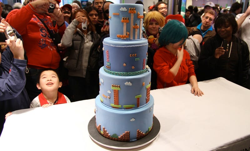 Super Mario Bros. World 8-Cake