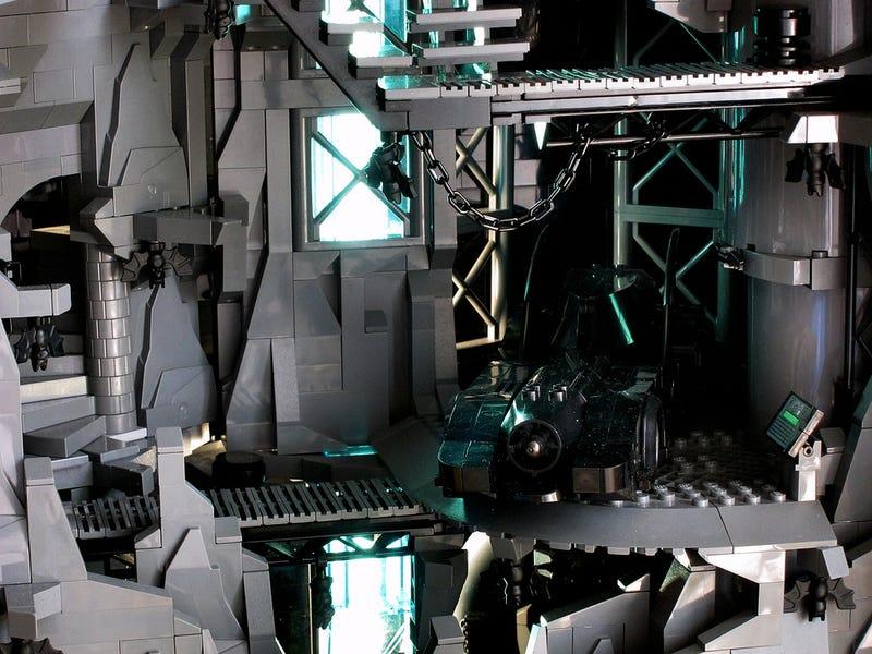 Holy Batman and His Bloody Amazing 9,000-Brick Lego Batcave!