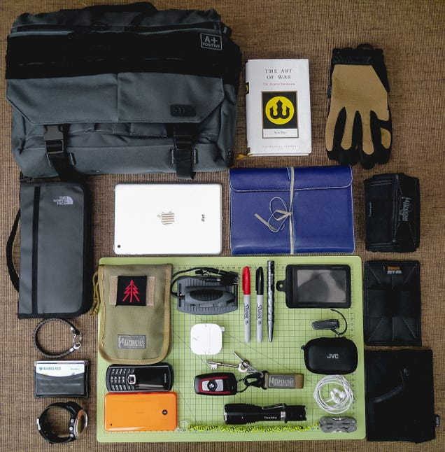 The Risk Consultant's Daily Bag