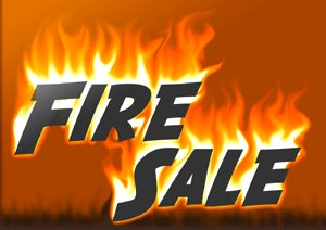 The fire sales to come