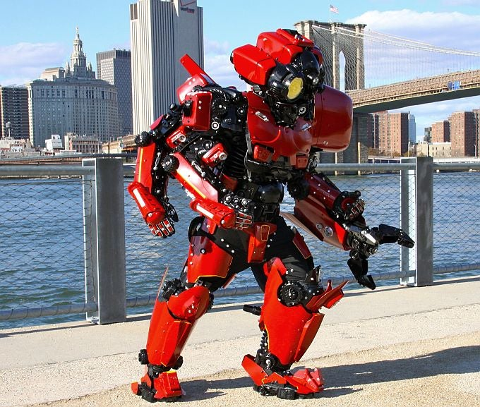 This is the best Pacific Rim Cosplay ever.
