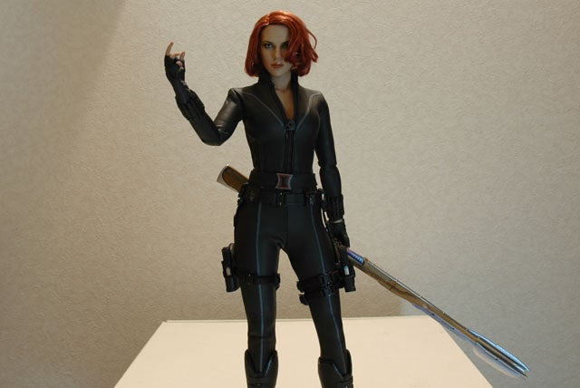 This Avengers Black Widow Figure Has Fabulous Hair