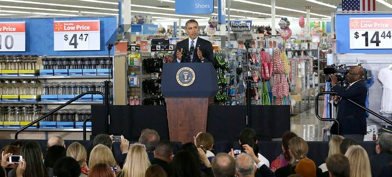 President Obama Pitched Solar Power At a Silicon Valley Walmart Today
