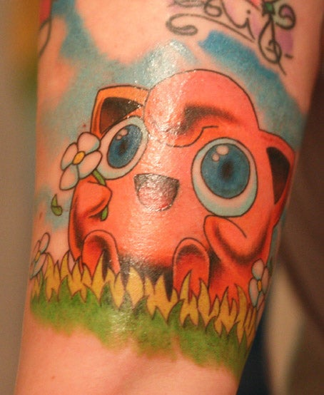 I Choose You...Jigglypuff, For This Giant Tattoo