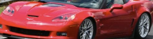 2009 Corvette ZR1 Trying To Set Record Lap?