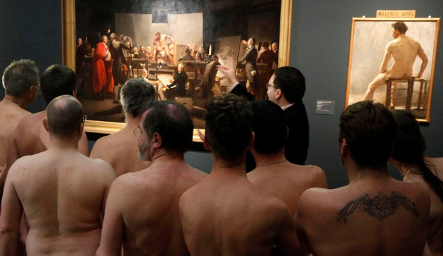 Museum Invites Visitors to Immerse Themselves in Nude Art Exhibit by Getting Naked Themselves (NSFW)