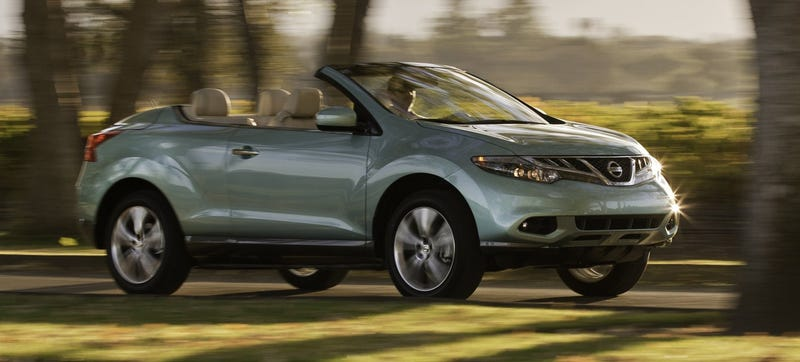 You Guys, The Nissan Murano CrossCabriolet Is Dead