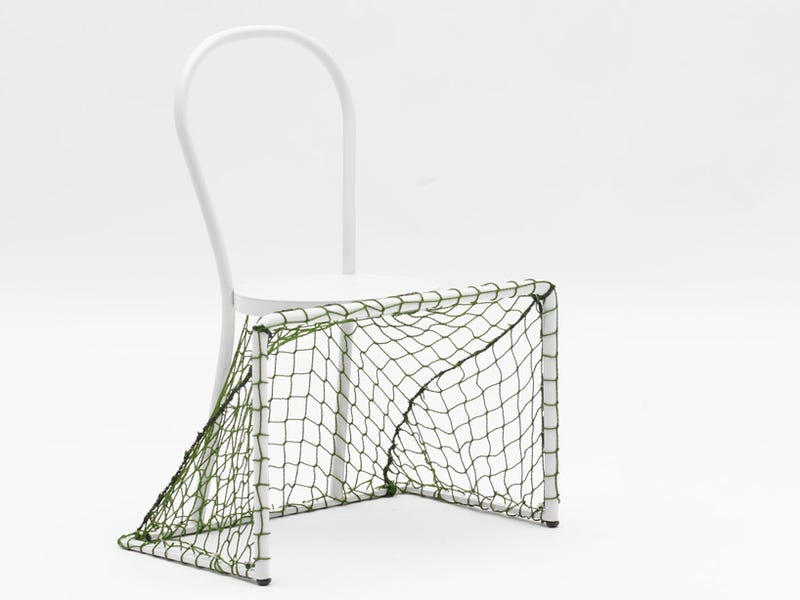 Soccer Goal Chairs Are the Only Way Children Will Voluntarily Sit Down