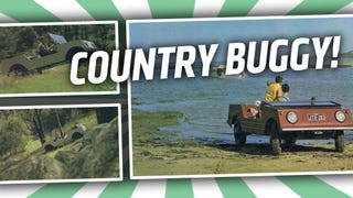 Obscure Air-Cooled VW Fetish Friday: The Country Buggy!