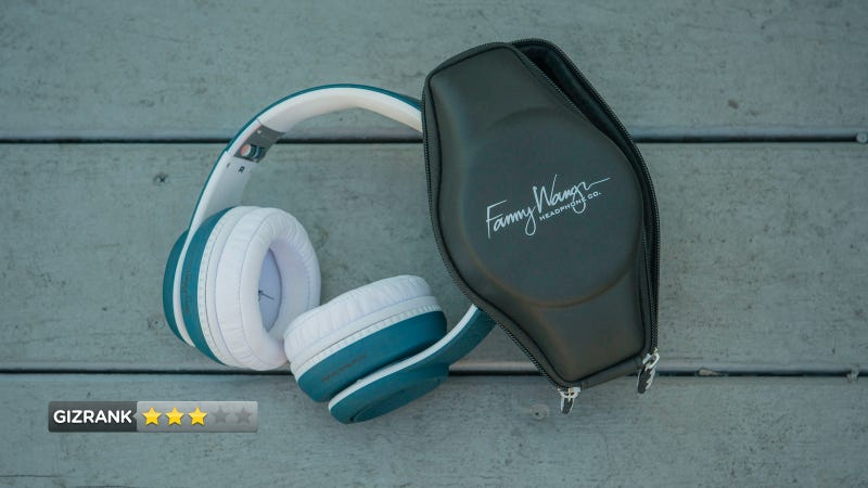 Fanny Wang 3001 Noise-Canceling Headphones Review: Phat Sound, Phony Fashion