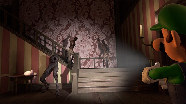 No Wonder Luigi's Scared in That Mansion, it Looks Terrifying