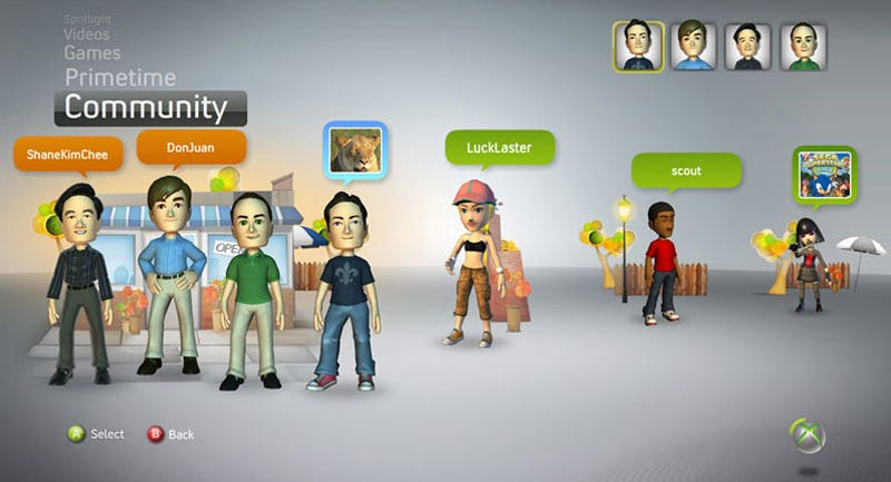 Microsoft Surveys NXE Avatar Changes, Including Wearable Achievements