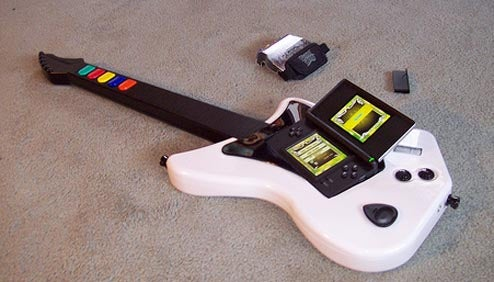 A Man-Sized Guitar Hero Portable