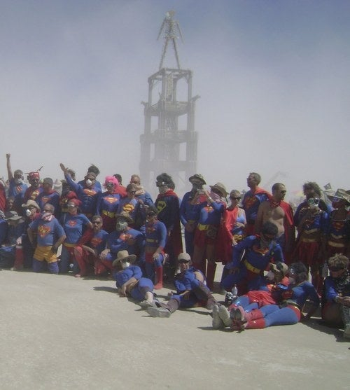 The 200 Supermen of the post-apocalyptic badlands