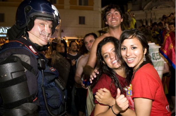 Sometimes It's Good To Be A Policia