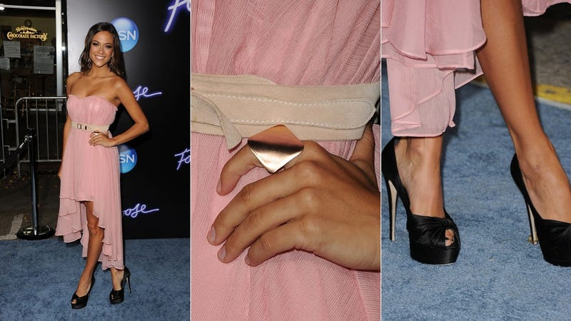 At Least The Cocktail Rings Were Cute At The Footloose Premiere