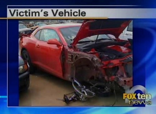This Woman Carjacked A Three-Day-Old Camaro, Totaled It Minutes Later