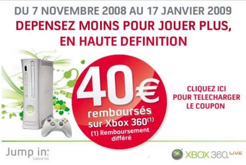 Microsoft Offers Le Rebate On French Xbox Sales
