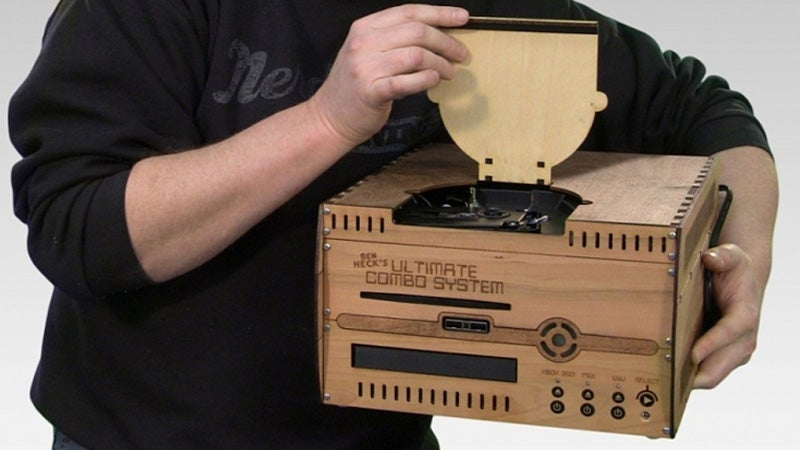 Ben Heck Ends the Console Wars By Cramming Them All Into One Box