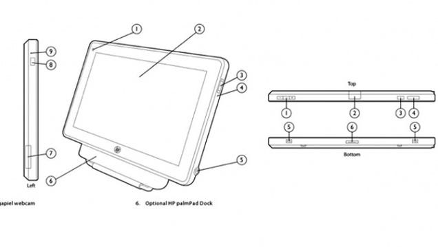 Leaked Look at Palm's Tablet Contender: Is This the PalmPad?