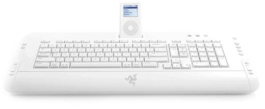 Razer Pro|Solutions Pro|Type Multimedia Keyboard: iPod Dock to Finally Ship