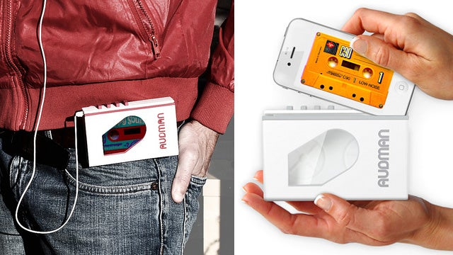 Audman Case Is Another Attempt To Turn the iPhone Into a Retro Walkman