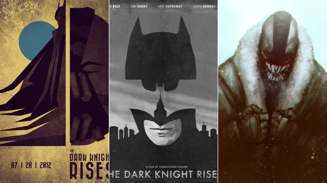 Dark Knight Rises fan art will be the instrument of your jubilation