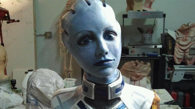 Liara, You're Looking Awfully Blue Today. And Very Three-Dimensional.