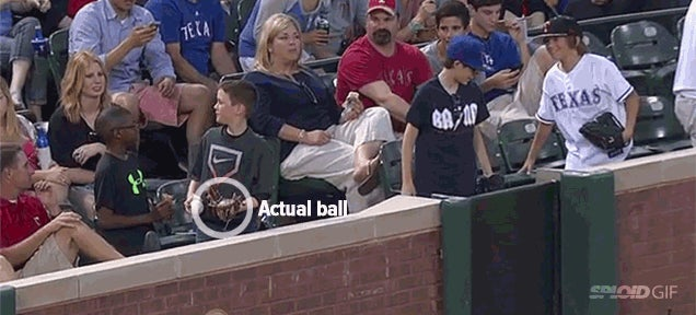 Suave baseball kid wasn't as suave as you thought he was
