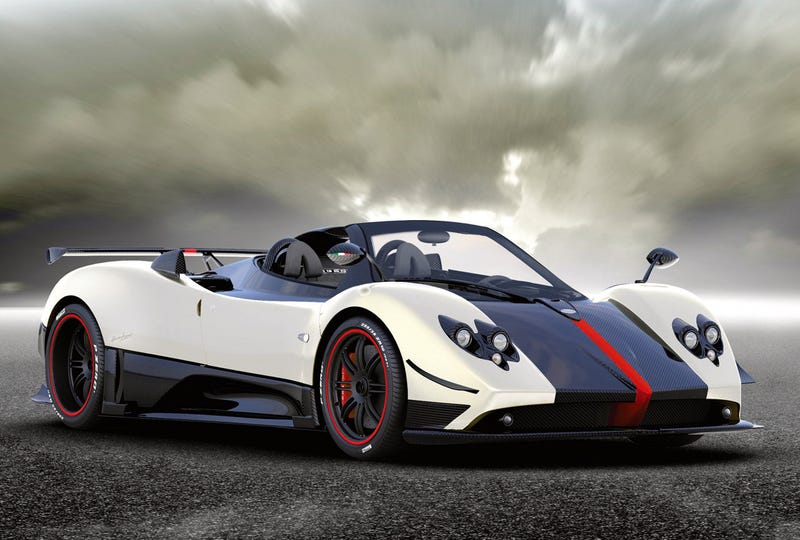 $1.8 Million, Limited-Edition Pagani Zonda Cinque Roadster