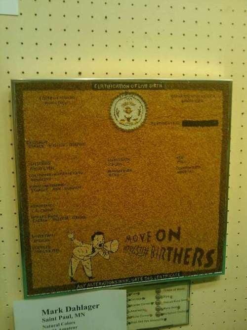 Obama Birth Certificate Found At Minnesota State Fair