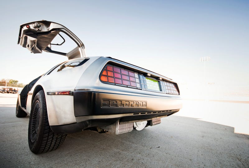 Electric DeLorean DMCEV: Driving Photos