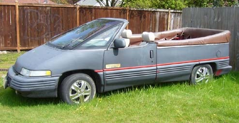 Transvertible: Because You Need A Convertible Pontiac Trans Sport