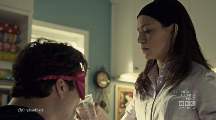 Orphan Black ventures into the craft room of terror