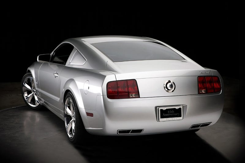Lee Iacocca Finds Better Car, Unveils Custom 45th Anniversary Mustang