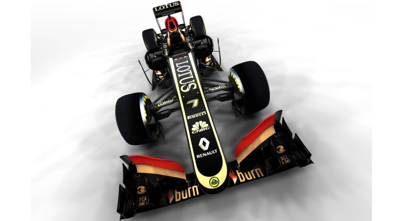 The 2013 Lotus F1 Car Has The World's Best Steering Wheel