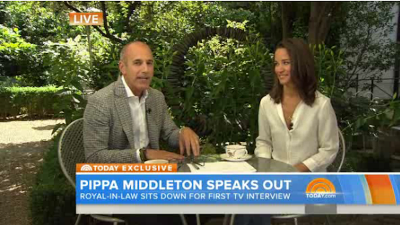 Boring Person Pippa Middleton to Be Interviewed as Though Interesting