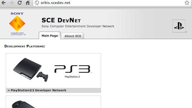 Sony Web Address for Next PlayStation Doesn't Work Anymore