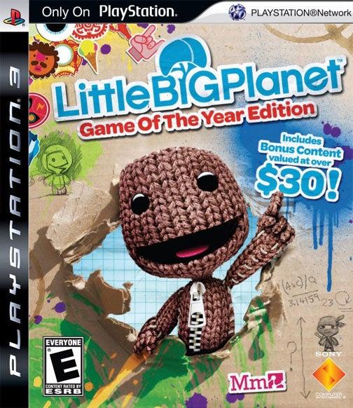 LittleBigPlanet GOTY Edition Box Art Promises $30 In Bonus Content