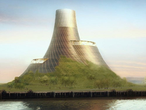 Biomass Power Plant Probably Hides Future Evil World Ruler