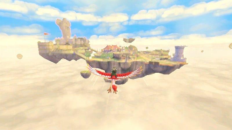 The First Two Dreamlike Hours of The Legend of Zelda: Skyward Sword