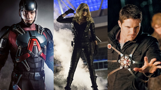 DC Is Creating A Justice League In The <i>Arrow&