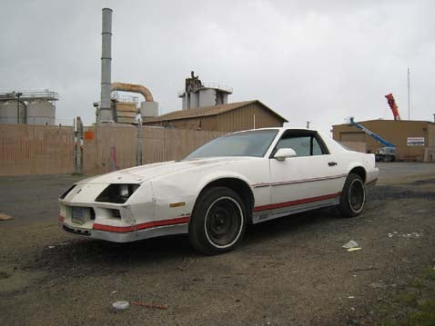 Camaro Dumped In Oakland Like An Unwanted Water Heater