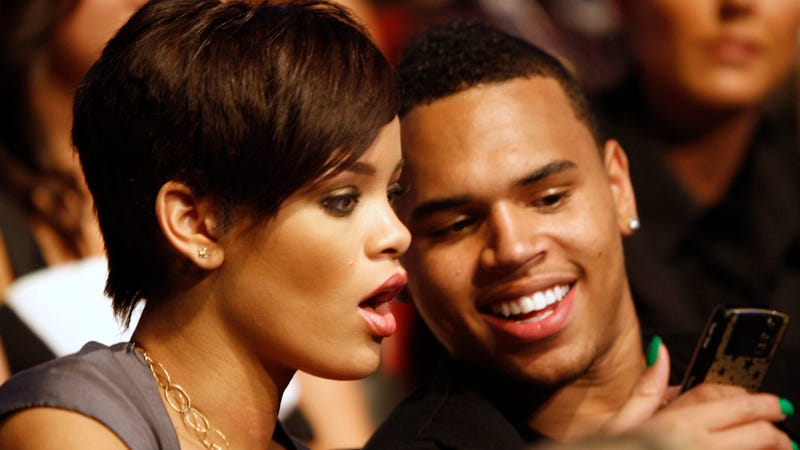 Rihanna and Chris Brown Are Officially Snuggling Again and Probably Touching Each Other's Butts Too