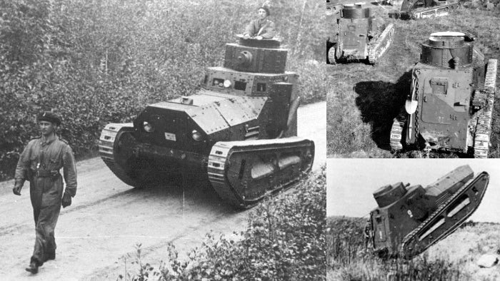 The most bizarre experimental tanks ever to roll through a battlefield