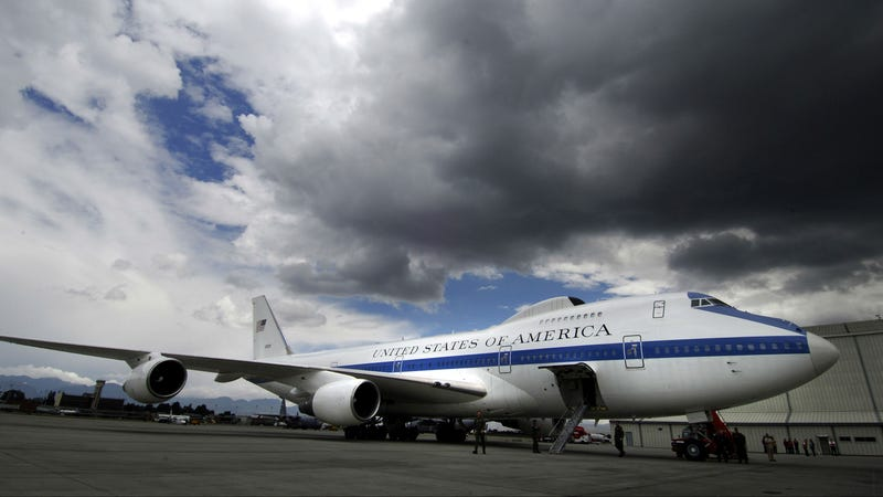 These Doomsday Planes Protect Heads of State When Disaster Strikes