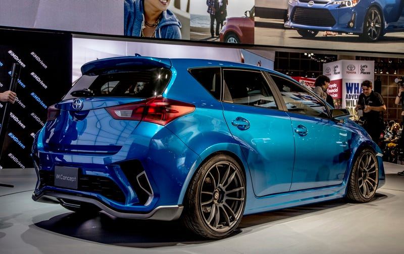 The Scion iM Is Matrix Part Deux
