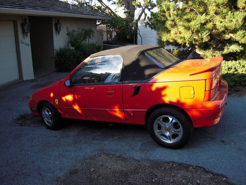 Warning: This Geo Metro Is Not A Ferrari